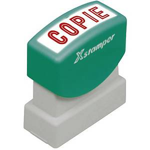 Timbre X-Stamper   Copie  , rouge (212640)