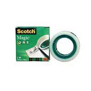 Klebeband Scotch Magic 810, 19 mmx10 m, beschriftbar