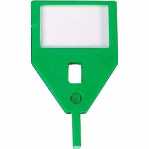 Porte-clés de rechange KR-A, vert, emb. de 10 pcs.