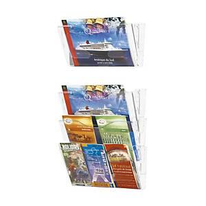 Casier mural plexiglas A4 oblong (TC4512)
