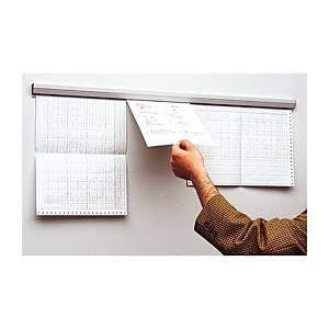 Rail pour document Gripdoc, longueur 88 cm, gris clair