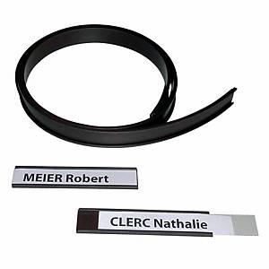 Profil en C magnétique BoOffice 20 mm x 1 m, marron