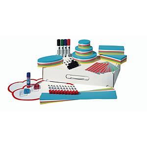 Boîtier d animation Nobo Basic, 53 x 32,5 x 10,5 cm (L x P x H), carton, blanc