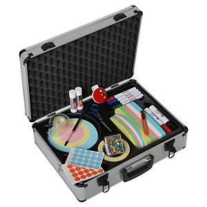 Moderatorenkoffer Standard Berec Design, 48x37x16 cm (BxTxH), Aluminium