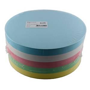 Cartes pour animation, cercle 18,5 cm, couleurs ass., paq. 500unit.