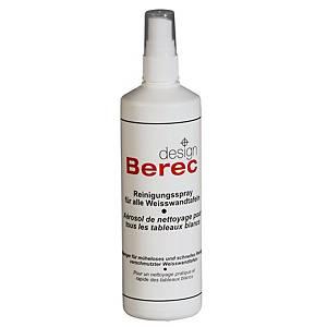 Spray nettoyant Berec Design, pour tableaux blancs, bouteille de 250 ml