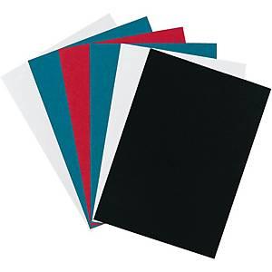Plat de couverture Erola carton pressé A4, 350 g/m2, blanc,100unit.