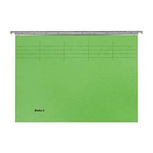 Hängemappe Biella Original A4 25 cm tief, grün, Packung à 50 Stück
