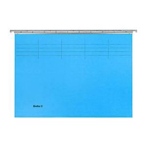 Hängemappe Biella Original A4 25 cm tief, blau, Packung à 50 Stück