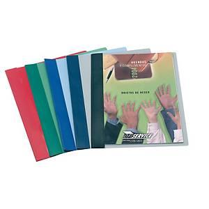 Dosier con fástener metálico Esselte - A4 - PVC - 150 hojas - negro