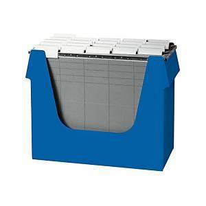Boîte à dossiers suspendus Ornalon, l360 x P160 x H272 mm, bleu