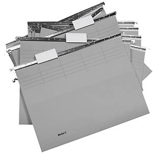 Dossier suspendu Biella Original 271255 25 cm de profondeur, gris, 25unités