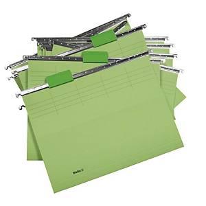 Dossier suspendu Biella Original 271255 25 cm de profondeur, vert, 25unités