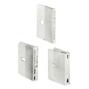 Beschriftungsetikette VetroLateral, 2teilig, weiss, Packung à 50 Stück