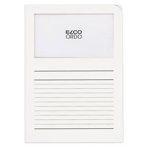 Organisationsmappe Elco Ordo Classico 73695, weiss, Packung à 10 Stück