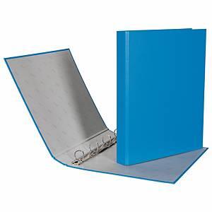 Couverture à 4 à anneaux Biella Ringo Plast 434442 A4, dos 3,5 cm, bleu