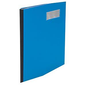 Parapheur Biella 341410 Pronto A4, avec dos à soufflet, 10 pièces, bleu
