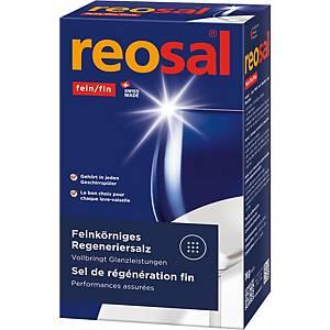 Sel régénérant pour lave-vaisselle Reosal, paq. 1kg, inodore