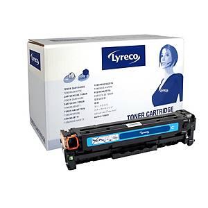 Lyreco Compatible 312A Laser Toner  HP CF381A Cyan