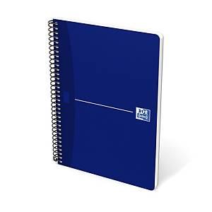 Caderno espiral Oxford Essentials - 4˚ - 80 folhas - quadriculado