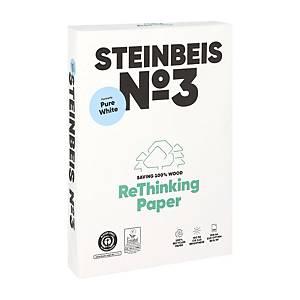 Papier A4 recyclé Steinbeis Pure White, 80 g, la boîte de 5 x 500 feuilles