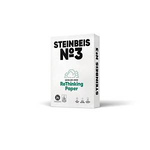 Kopierpapier Recycling Steinbeis Pure White, A4, 80g, 90er-Weiße, 500 Blatt