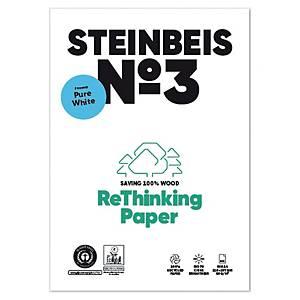 Papier recyclé blanc A4 Steinbeis PureWhite - 80 g - ramette 500 feuilles