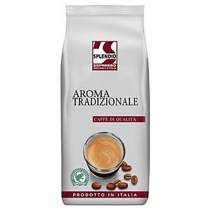 Espresso Splendid Aroma Tradizionale, Qualitätsespresso, ganze Bohne, 1000g
