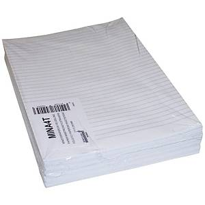 Ministerpaper ruled A4 80g - pack of 240 sheets