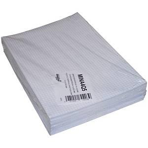 Ministerpapier geruit, A4, 80 g, pak van 240 vellen