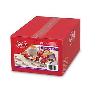 Assortiments de biscuits Lotus luxe, la boîte de 230 biscuits