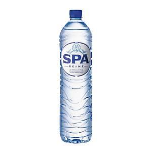 Eau minérale Spa Reine, le paquet de 6 bouteilles de 1,5 l