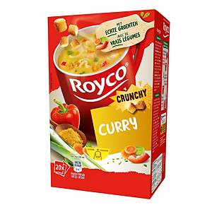 Royco soup bags - curry - box of 20