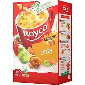 Royco Crunchy Curry, doos van 20 zakjes