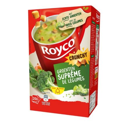 royco soup bags vegetables supreme box of 20