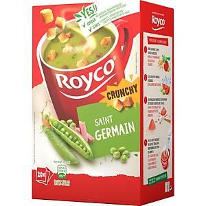 Royco Crunchy St. Germain, doos van 20 zakjes