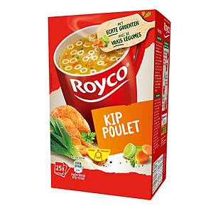 Royco kippensoep, doos van 25 zakjes