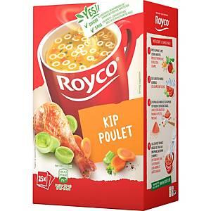 Soupe au poulet Royco, la boîte de 25 sachets