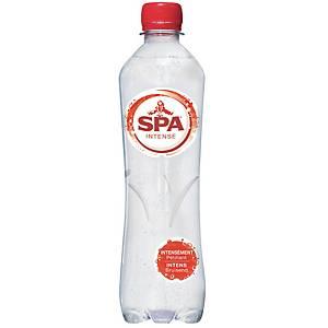 Eau pétillante Spa Intense, le paquet de 24 bouteilles de 0,5 l