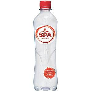 Spa Intense sparkling water pet 0,5L - pack of 24