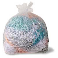 Makulatorposer Fellowes, plast, 165 L, pakke a 50 stk.