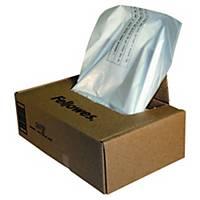 Makulatorposer Fellowes, plast, 121-143 L, pakke a 50 stk.