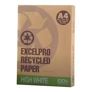 EXCELPRO 100% 環保影印紙 A4 80磅 - 每箱5捻(每捻500張)