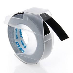 Dymo 5238 Embrosser Tape 9mmx3m Black