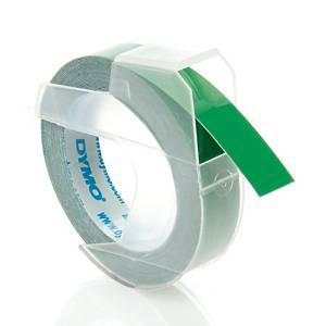 DYMO เทปพิมพ์อักษรพลาสติก9มม. x 3ม.เขียว