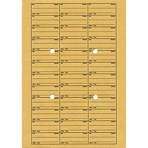 Hausposttasche, C4, ungummiert, mit Tabellendruck, 110g, Natron braun, 250 Stück