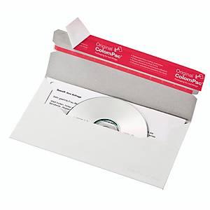 CD/DVD-Brief Colompac CP40.06N ohne Fenster Innenmaße: 221x123mm weiß