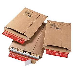 COLOMPAC CARDBOARD ENVELOPE 185 X 270 X 50MM