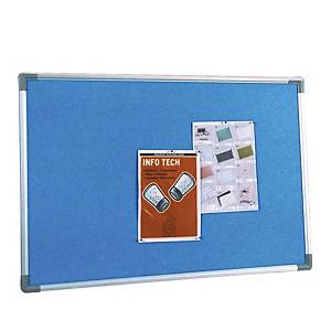 Writebest Foam Notice Board 90 X 120cm - Blue