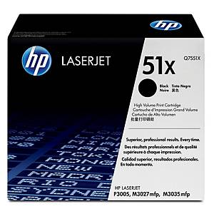 HP Q7551X laser cartridge nr.51X black High Capacity [13.000 pages]